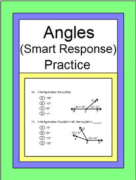 Angles - SMART Response for Practice Problems (1 - 35) ZIP