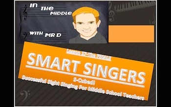 S-Cubed!  SMART SINGERS!  Final Lesson-Successful Sight Singing