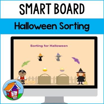 SMART Board Sorting for Halloween