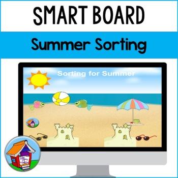 SMART Board Sorting for Summer