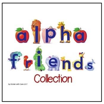 SMART board Alphafriends Collection