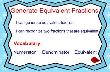 SMARTBOARD LESSON:  EQUIVALENT FRACTION LESSON