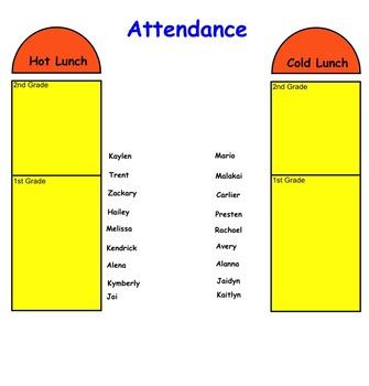 SMARTBoard Daily Attendance