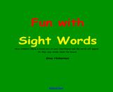 SMARTBoard Sight Word Game