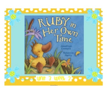 """Reading Street """"Ruby in Her Own Time"""" - SMARTboard - First"""