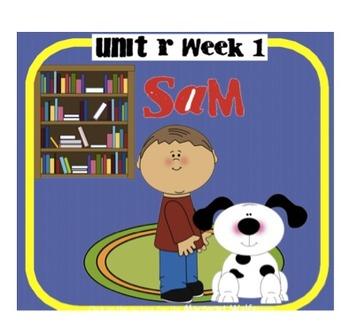 "Reading Street ""Sam"" SMARTboard  First Grade Unit R Week 1"