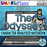 SMARTePlans Digital The Odyssey Character Analysis Interac