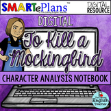 SMARTePlans To Kill a Mockingbird Character Analysis Inter