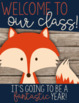 {FREEBIE} Rustic Woodland Animals Classroom Decor Set Sampler