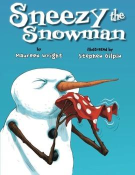 SNEEZY THE SNOWMAN * Maureen Wright