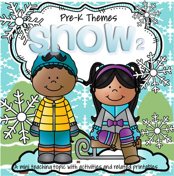 SNOW Literacy and Math Centers and Activities for Preschoo