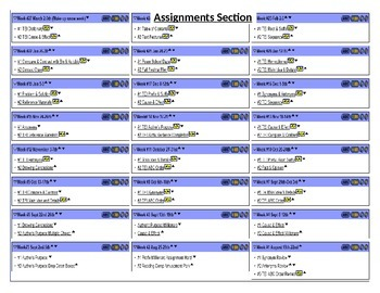 SOL 4th Grade TEI Self Checking Assignments, Reading & Mat