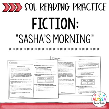 SOL Fiction Practice Worksheets (SOL 4.4 and 4.5)
