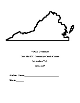 SOL Geometry Study Guide Notebook (Student Edition)