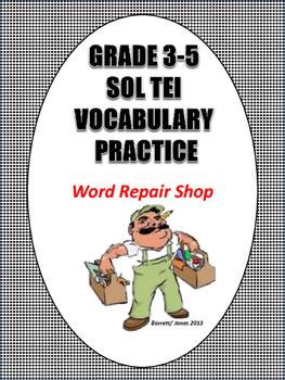 SOL Vocabulary & TEI Practice Set