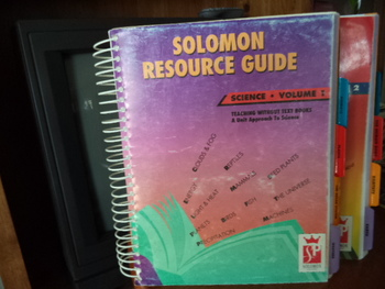 SOLOMON RESOURCE GUIDE SCIENCE - VOL 1 and 2(set of 2)