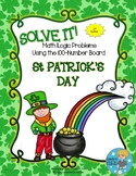 SOLVE IT! St Patrick Math Logic Problems Using the 100-num
