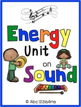 SOUND UNIT {Vocab. cards, Lesson plans, Resources to suppl