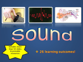 SOUND, waves, frequency, amplitude, ultrasound, hearing, p