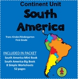 SOUTH AMERICA Continent Study Unit