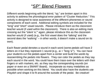 SP Blend Flowers to Address Cluster Reduction