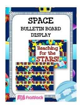 SPACE Bulletin Board Set Display