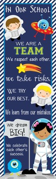 SPACE - Classroom Decor: X-LARGE BANNER, In Our School