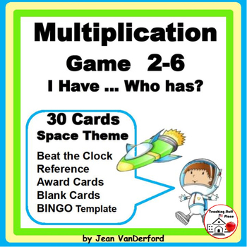 """Multiplication 2-6 GAME REVIEW 