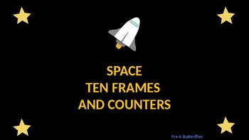SPACE TEN FRAMES AND COUNTERS