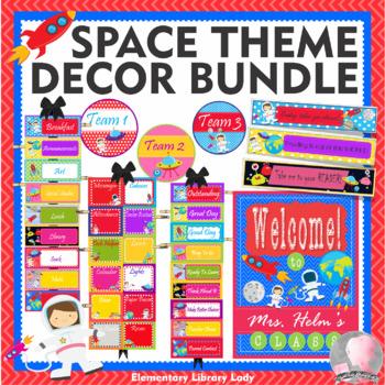 SPACE Theme Classroom Decor - BUNDLE
