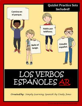 """SPANISH """"AR VERBS"""" ACTIVITIES"""