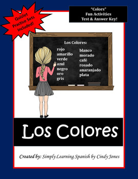 SPANISH COLORS ACTIVITIES