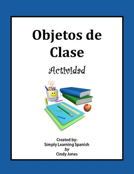 "SPANISH ""Class Objects"" ACTIVITY"
