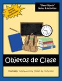"SPANISH ""Class Objects"" UNIT"