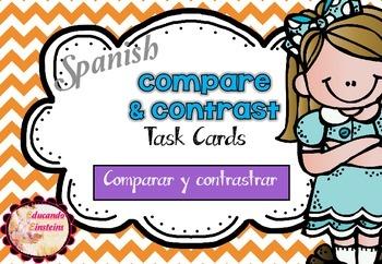 SPANISH Differentiated Compare and Contrast (Compara y con