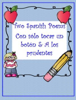 "TWO SPANISH POEMS ""Con solo tocar un boton"" & ""A los prudentes"""