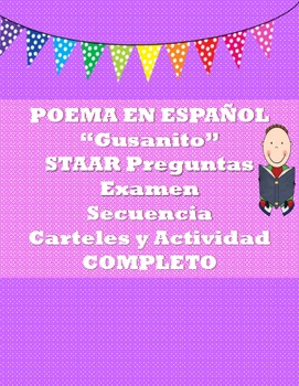 "SPANISH Poem ""Gusanito""  COMPLETE"