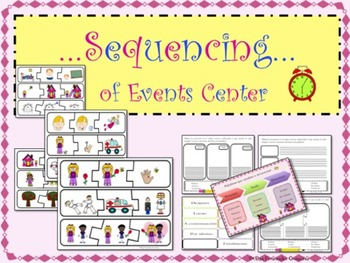 SPANISH SEQUENCING LITERACY CENTER (CARDS, ANCHOR CHARTS,