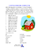 SPANISH WORKSHEETS! - Parts of the Body & Animals (Farm, O