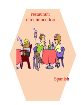 SPANISH restaurant circumlocution