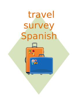 SPANISH travel surveys