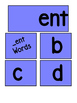 SPECIAL EDUCATION* Word Families Flip Book (E's)