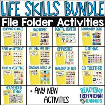 SPED Life Skills File Folder BUNDLE