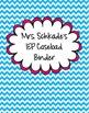 SPED caseload binder