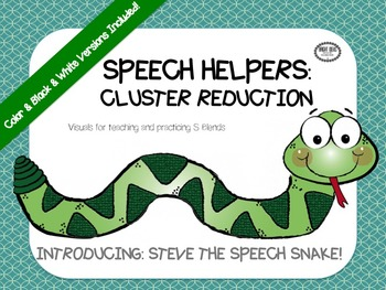SPEECH HELPERS: Cluster Reduction