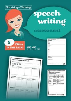 SPEECH WRITING - Assessment