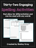 32 Engaging Spelling Activities