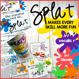 SPLAT!! A fun DIY open ended game PLUS /r/, vocalic /r/, /