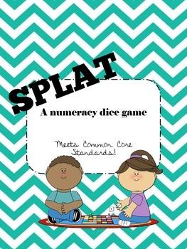 SPLAT dice game