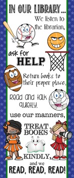 SPORTS ALL STARS - Classroom Decor: LARGE BANNER, In this Library